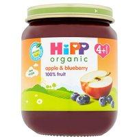 Hipp 4 Month Organic Apple & Blueberry Dessert