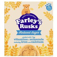 Farleys Rusks 4 Month Reduced Sugar Original 18 Pack