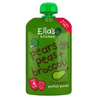 Ellas Kitchen 4 Month Broccoli Pear & Peas Puree