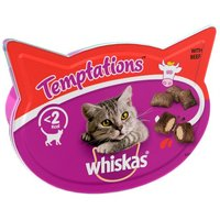 Whiskas Temptations Beef