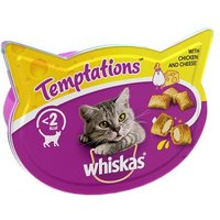 Whiskas Temptations Chicken & Cheese