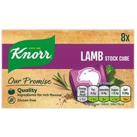 Knorr Lamb Stock Cubes 8 Pack