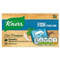 Knorr Fish Stock Cubes 8 Pack