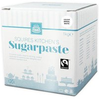Squires Kitchen White Fairtrade Sugarpaste Ready To Roll Icing Large