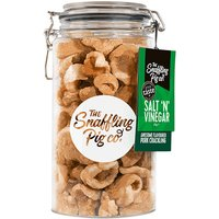 Snaffling Pig Salt & Vinegar Pork Crackling Gifting Jar