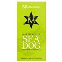 Montezuma's Dark Chocolate 'Sea Dog' With Lime & Sea Salt