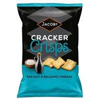 Jacobs Cracker Crisps Salt & Balsamic Vinegar