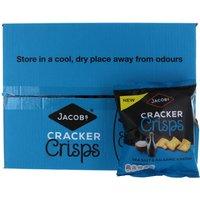 Jacobs Cracker Crisps Salt & Balsamic Vinegar 18 x 40g