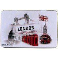 New English Teas London Selection Tin 100 Teabags