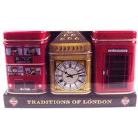 Traditions Of London Heritage Tins Pack