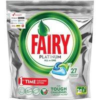 Fairy Dishwasher Platinum Tablets 27 Pack