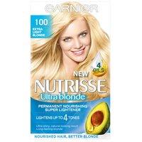 Garnier Nutrisse 100 Extra Light Blonde Permanent Hair Dye
