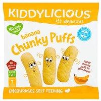 Kiddylicious Banana Chunky Puffs