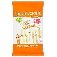 Kiddylicious Lentil Straws Multi 4 Pack