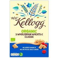 WK Kellogg Organic Wholegrain Wheats Classic