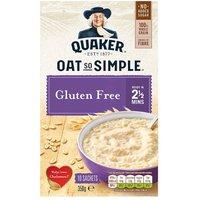 Quaker Oat So Simple Gluten Free Original Porridge 10 Pack