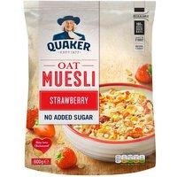 Quaker Oat Strawberry Muesli