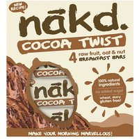 Nakd Cocoa Twist Multipack 4 Pack