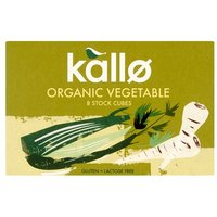 Kallo Organic Vegetable Stock Cubes