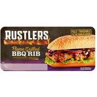 Rustlers BBQ Rib Sandwich