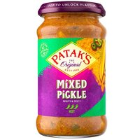 Pataks Hot Mixed Pickle