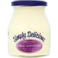 Simply Delicious Organic Garlic Mayonnaise