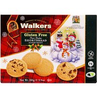 Walkers Gluten Free Shortbread Christmas Box