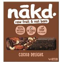 Nakd Cocoa Delight Bar 4 Pack