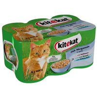 Kitekat Fish Megamix in Jelly 6 Pack