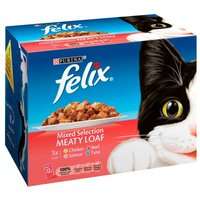 Felix Pouch Fish and Meat Supermeat Selection 12 Pack
