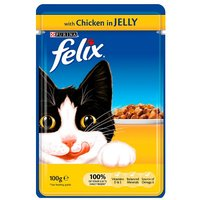 'Felix Pouch With Chicken In Jelly