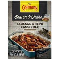 Colmans Season & Shake Sausage Herb Casserole