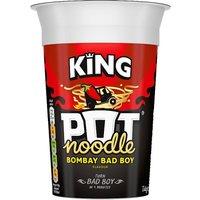 King Pot Noodle Bombay Bad Boy