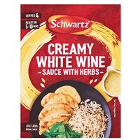 Schwartz Creamy White Wine & Herb Sauce Mix