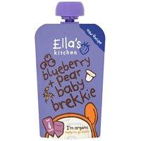 Ellas Kitchen 6 Month Blueberry & Pear Baby Brekkie