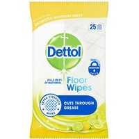 Dettol Floor Wipes Citrus 25 Pack
