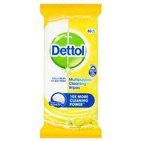 Dettol Multi Action Wipes Citrus 70 Pack