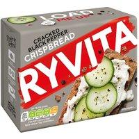 Ryvita Cracked Black Pepper Crisp Bread 5 Pack