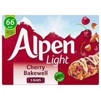 Alpen Light Bar Cherry Bakewell 5 Pack