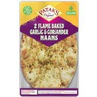 Pataks Garlic & Coriander Naan Bread 2 Pack