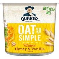 Quaker Oat So Simple Honey & Vanilla Porridge Pot