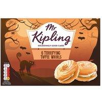 Mr Kipling Toffee Terror Whirls 6 Pack