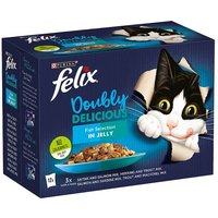 Felix As Good As It Looks Doubly Delicious Fish 12 Pack