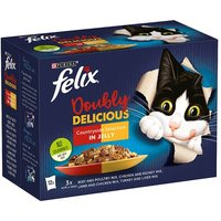 Felix As Good As It Looks Doubly Delicious Meat 12 Pack