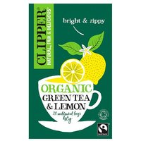 Clipper Green Tea with Lemon 20 Teabags