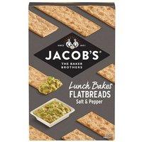 Jacobs Flatbread Salt & Cracked Black Pepper