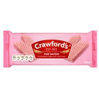 Crawfords Pink Wafers