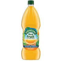 Robinsons No Added Sugar Double Concentrated Squash Orange 1.75L