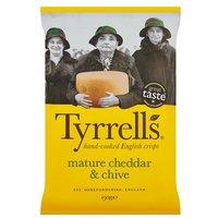 Tyrrells Crisps Mature Cheddar & Chive