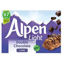 Alpen Light Bars Double Chocolate 5 Pack